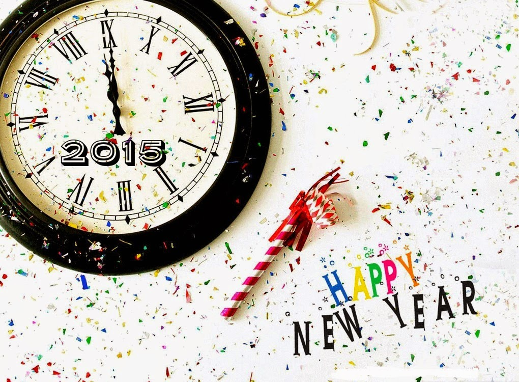 Greeting Of Happy New Year 2015 Free Download Wallpaper