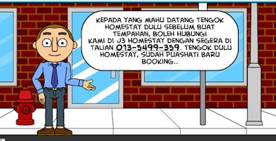 Komik J3 Homestay Tawau