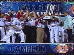 Naranjeros de Hermosillo Campeón de la Serie del caribe de Beisbol 2014