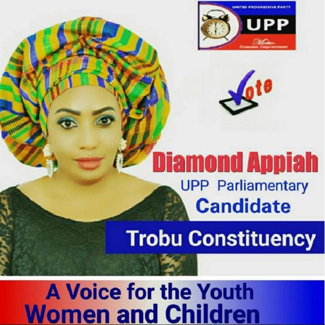 Actress Diamond Appiah Joined Showbiz political ambition
