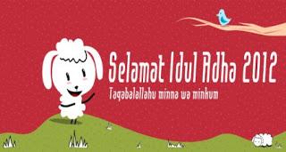 SMS BBM Lucu Ucapan Selamat Hari Raya Idul Adha 2012