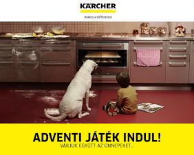Nyerd meg a 24 Kärcher ajándékcsomag egyikét!