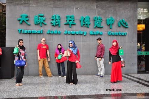 Melancong percuma ke Shanghai dengan Awesomazing team di jade store