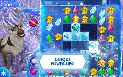 Frozen Free Fall V3.4.0 Mod Apk-screenshot-3
