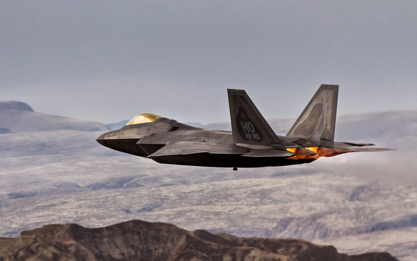 wallpapers: Lockheed Martin F-22 Raptor Wallpapers