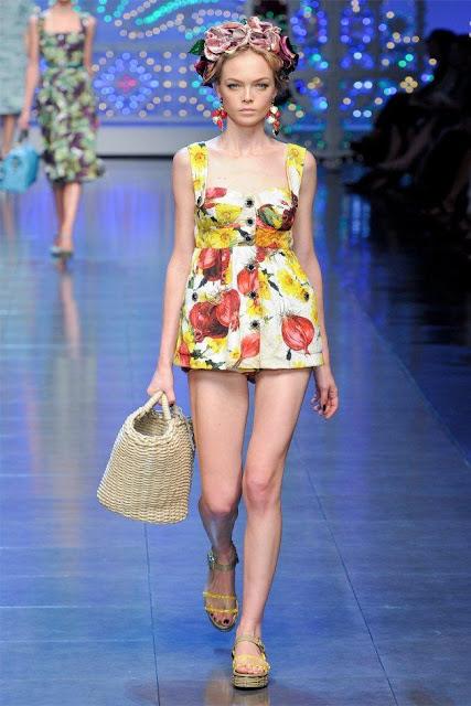 dolce gabbana13 - Dolce&Gabbana Ilkbahar 2012 | Milan Moda Haftas�