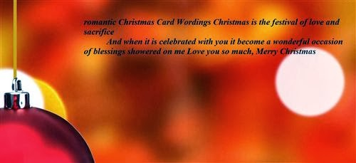 Romantic Christmas Wishes Messages For Husband