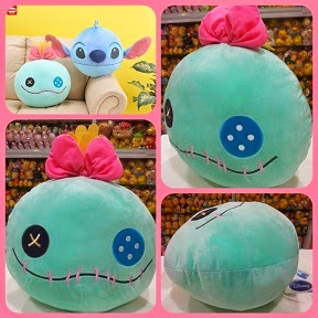 (INSTOCK) Disney Sega Scrump Cushion Plush