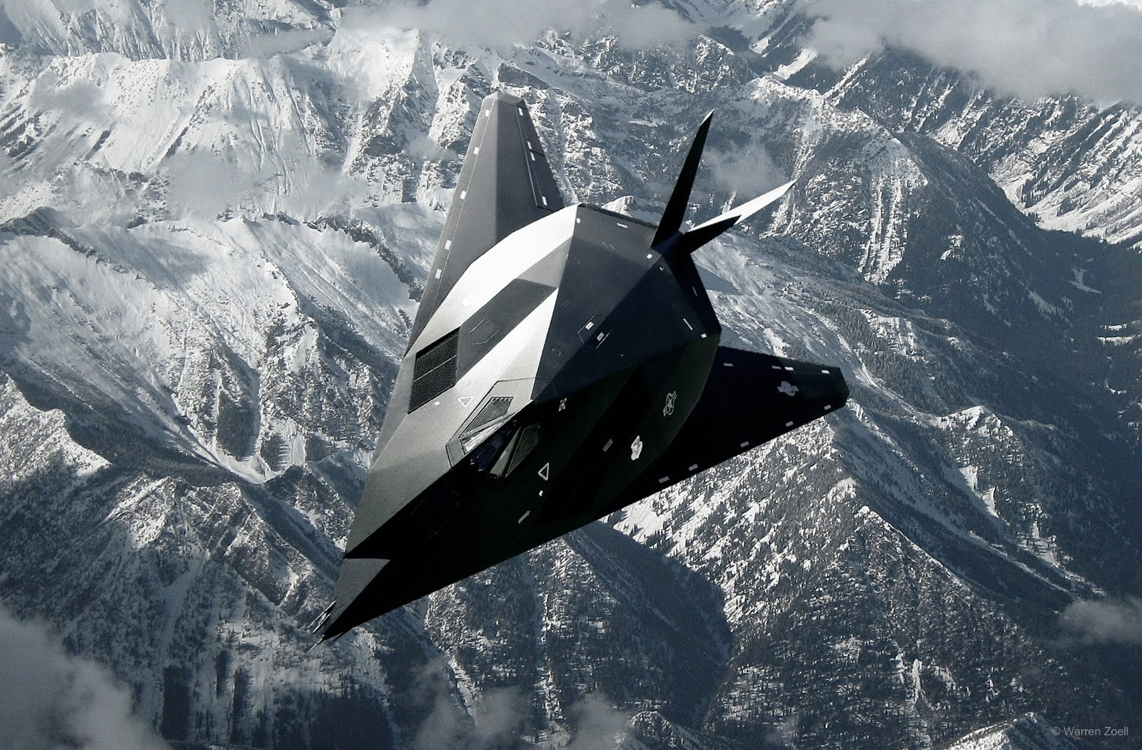 ... Great Canadian Model Builders Web Page!: F 117 Nighthawk Composite