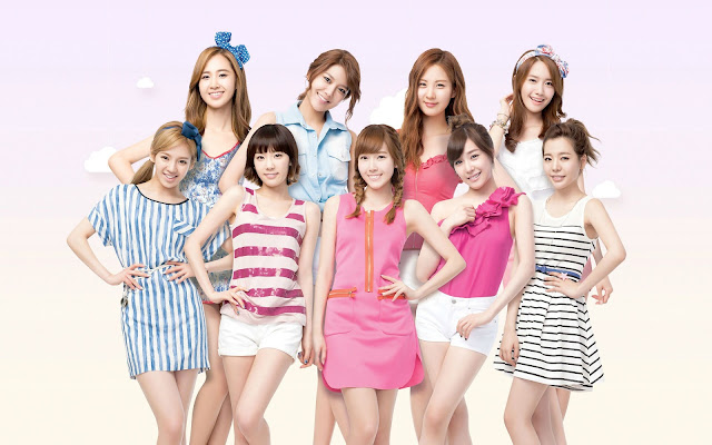 Girls Generation SNSD Wallpaper HD 소녀시대/少女時代