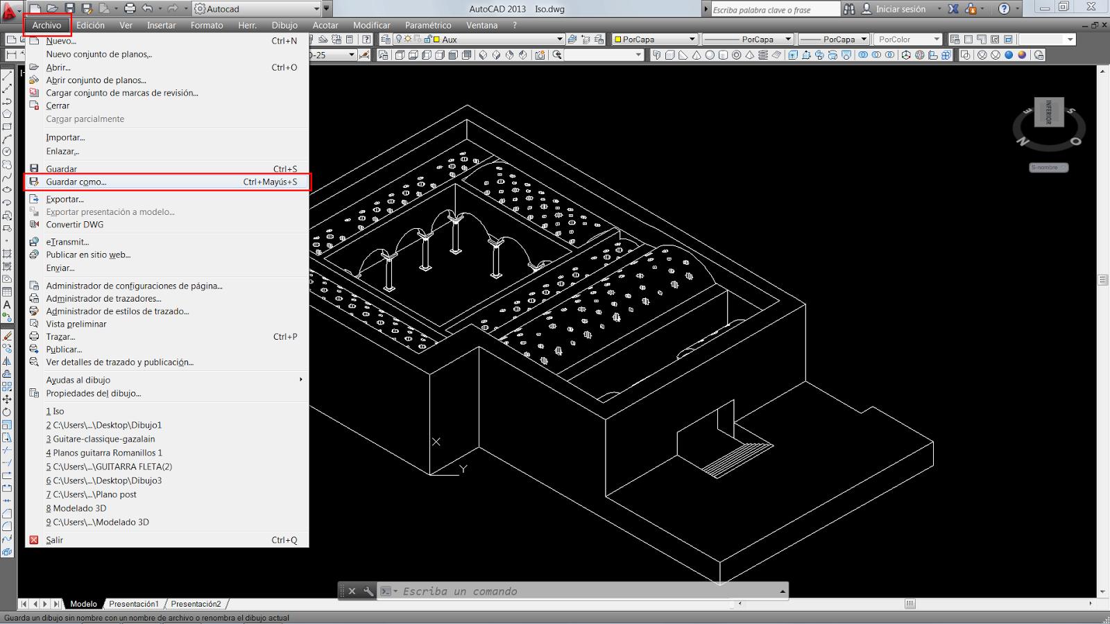 Plano y escala pasar de autocad a illustrator dwg a ai for Programa para hacer planos a escala