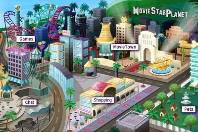 Moviestarplanet.com: Create Virtual MovieStar for Chat & Games