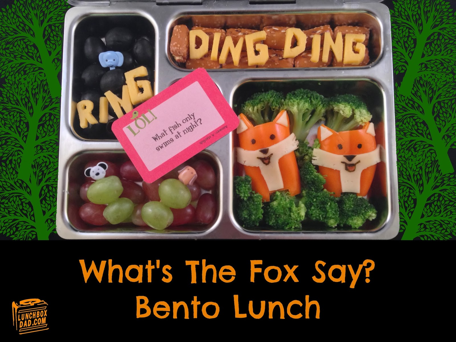 Lunchbox dad what does the fox say lunch
