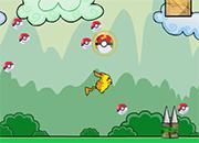 Pikachu rescue pokeballs