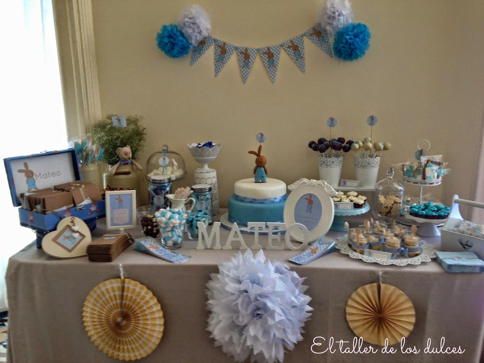 El taller de los dulces mesas dulces y celebraciones for Mesa dulce para bautismo