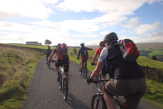 Coast 2 Coast cycle route - Whitehaven to Sunderland c2c - map - bed & breakfast - penrith - rookhope