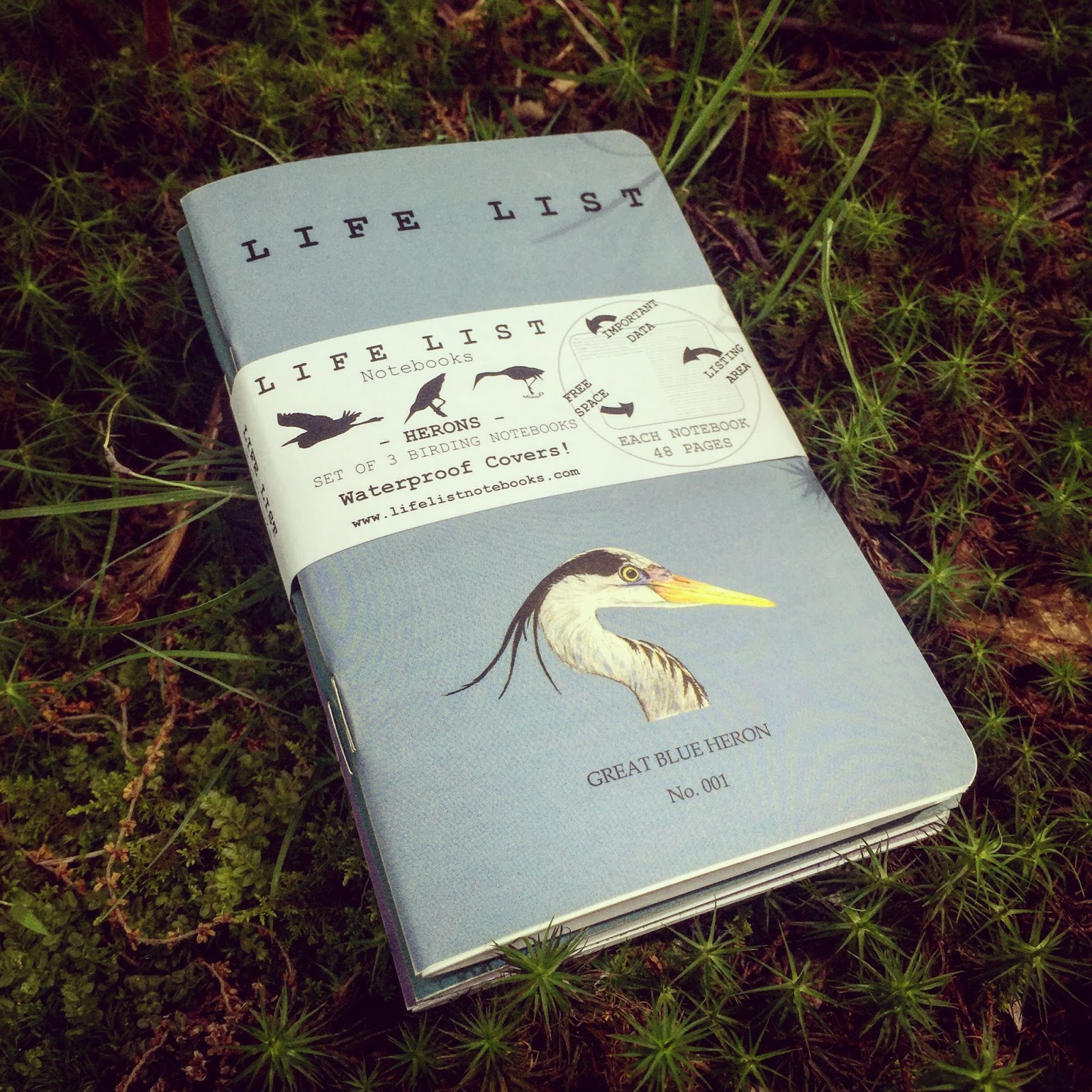 Life List Notebooks