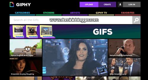 Crea Gif animados online y gratis con Giphy