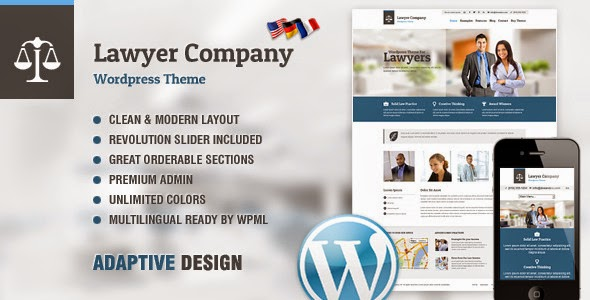 lawyer multipurpose adaptive wordpress theme v1.16