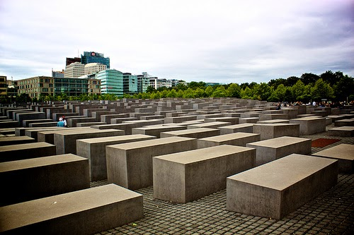 Holocaust Memorial - Berlin Germany. (Photo by Philippe AMIOT)