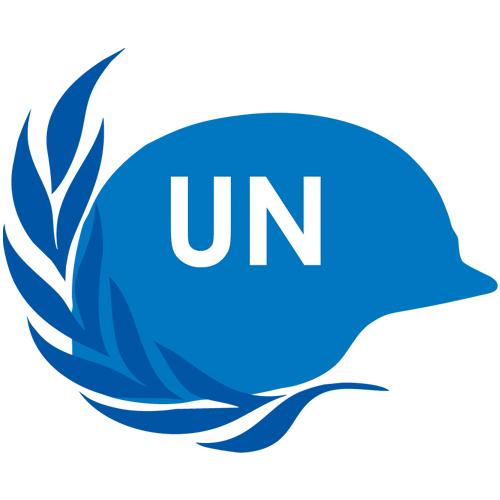UN peacekeeper logo