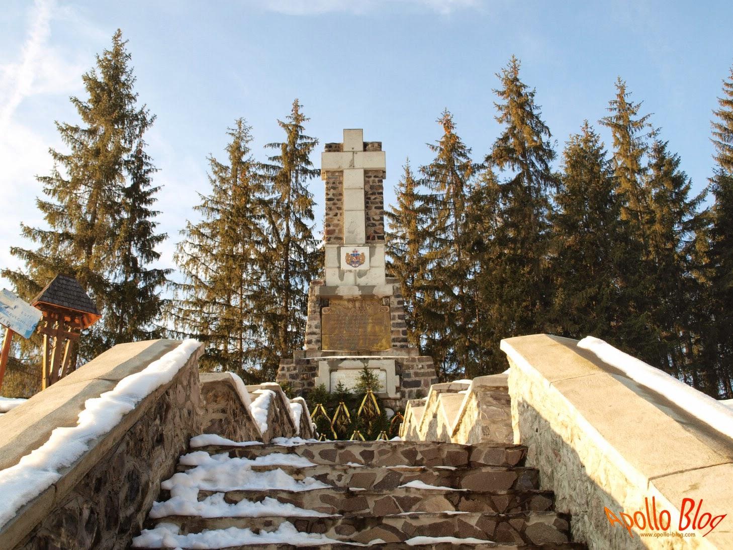 Monumentul Eroilor - Toplita Secu