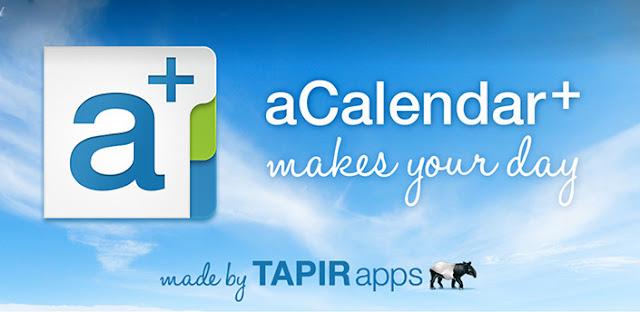 aCalendar+ Calendar & Tasks v1.6.0 Apk Miki