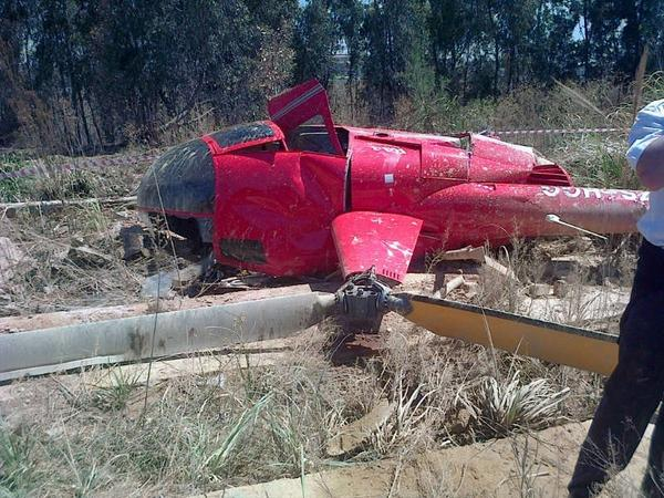 SA Weather And Disaster Observation Service Germiston Heli Crash Leaves Thre