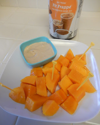 Mango%2Band%2BBig%2BTrain%2BFit%2BFrappe%2BSpiced%2BChai%2BYogurt%2BDip%2BEggface%2BRecipe Weight Loss Recipes 15 Protein Packed Portable Healthy Snacks (or Lunch)