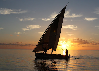 Indian Ocean Sunrise Two by Terri Williams