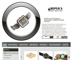 Watches WordPress Theme