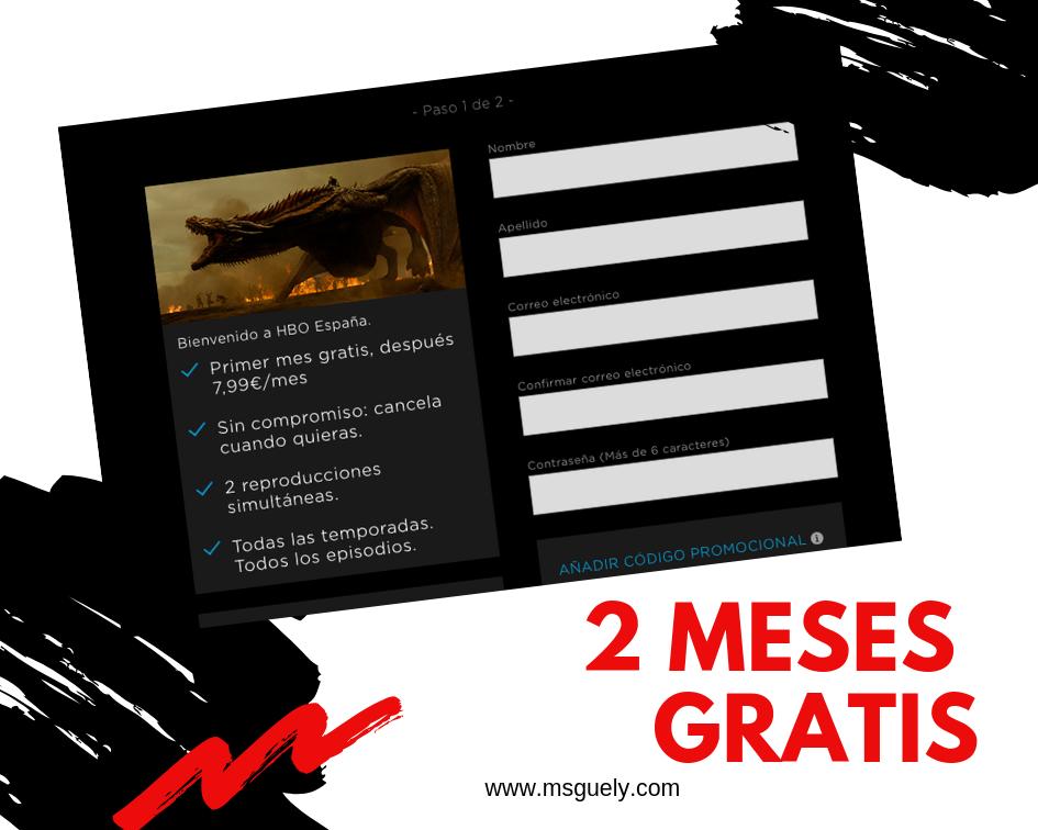 Msguelyblog Promocion Dos Meses Gratis En Hbo Gracias A Buitoni De