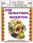 BOLETÍN CADA UNO POR LA JUSTICIA           No. 35/ NOVIEMBRE 2012