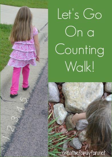 http://www.creativefamilyfun.net/2012/06/go-outside-counting-walk.html