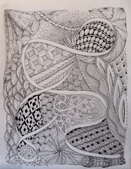Larger Zentangle-inspired art
