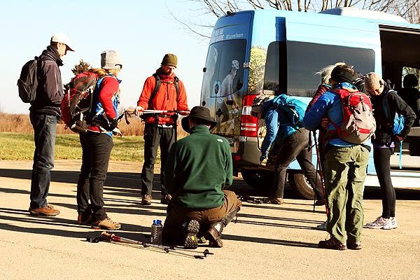 REI tour guides Matthiessen State Park