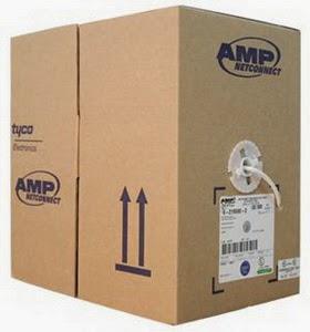 Cáp mạng UTP AMP CAT5E chính hãng