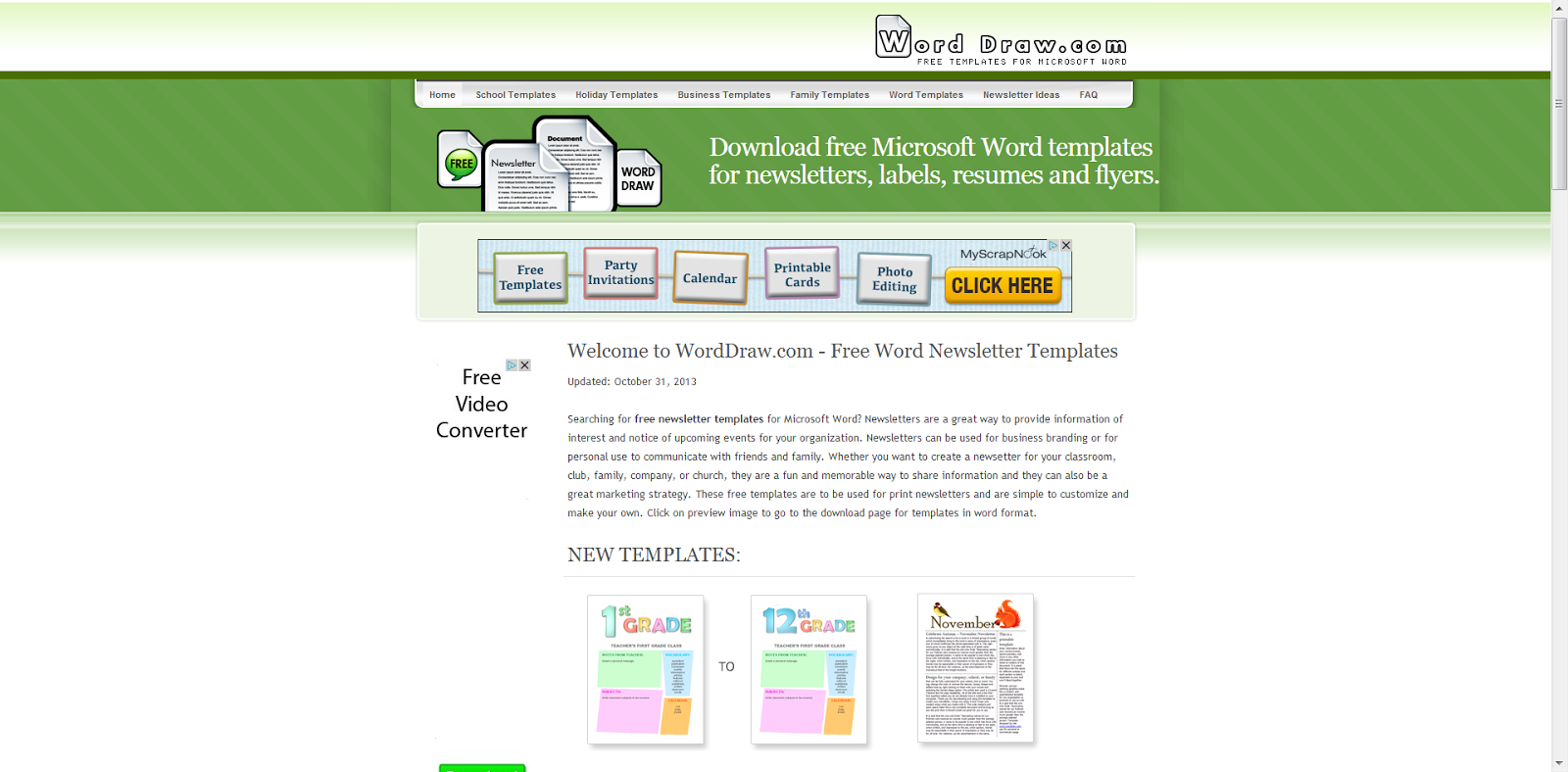 word newsletter templates word newsletter template 31 free