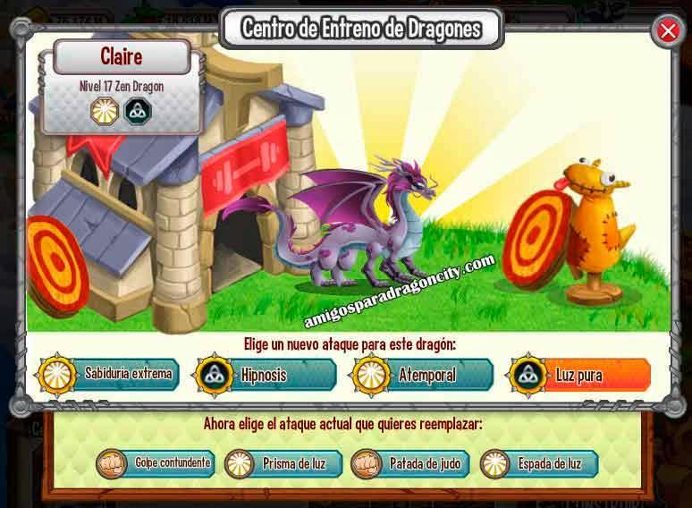 imagen de los ataques del dragon zen