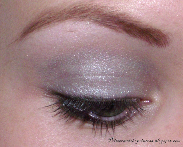 Natural Collection Duo Eyeshadow Review - Frost Shimmer/ Aqua Shimmer Swatch