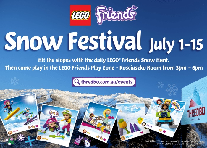LEGO Friends Snow Festival July 1 - 15