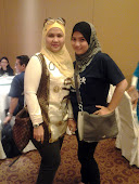 with my top leader....kak ana..