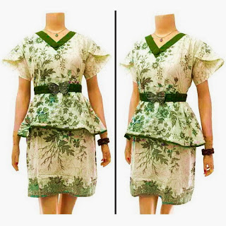 DB3600 Model Baju Dress Batik Modern Terbaru 2013