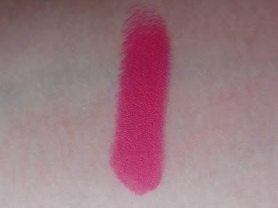 Next matte lipstick party pink swatch
