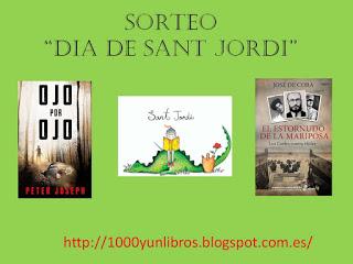 SORTEO SAN JORDI