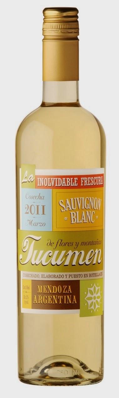 Wine #1: Tucumen Sauvignon Blanc from Mendoza Argentina - RM72