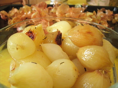 peeled onions