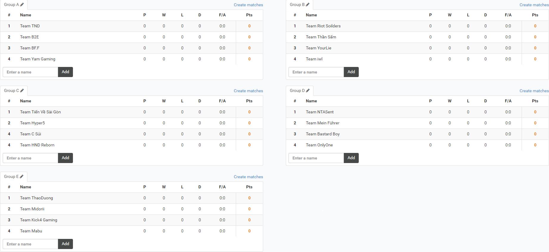 Lịch thi đấu, danh sách các team tham gia giải đấu CS:GO SamSung Championship khu vực Hà Nội