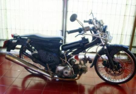 Gambar Modifikasi Motor Honda 70 Ceper Keren title=