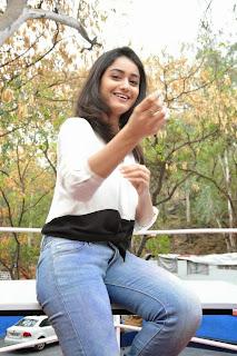 Tridha Chowdary Stills At Surya vs Surya Movie Success Meet 19.jpg